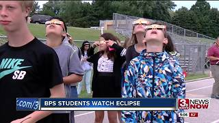 Eclipse 2017: Bellevue Public Schools celebrates eclipse - Video