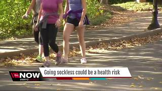 Why going sockless could be a health risk - Video