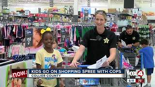 Kids go on holiday shopping spree with deputies - Video