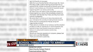 Rumored hit list at Boulder City school - Video