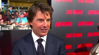 Tom Cruise returns as 'Jack Reacher' - Video