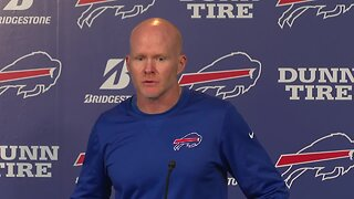 Bills head coach Sean McDermott discusses team's upcoming game against the Ravens