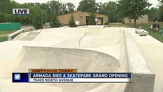 Armada Skatepark Opens - Video
