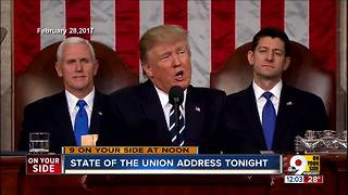 State of The Union address tonight - Video