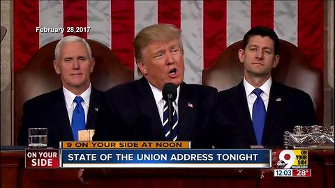 State of The Union address tonight