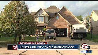 String of break-ins, robberies in Franklin leave community on edge - Video