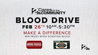 2 Cares for the Community blood drive