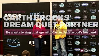 Garth Brooks' Dream Duet Partner | Rare Country - Video