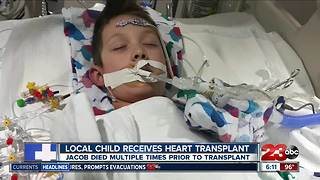 Local boy healing after heart transplant - Video