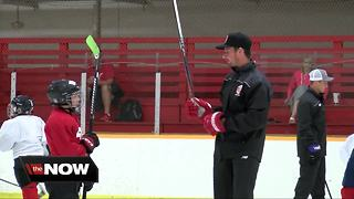 Dylan Larkin hockey camp - Video