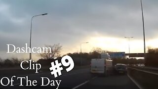 Dashcam Clip Of The Day #9 - World Dashcam - UK Motorway Road Rage Crash