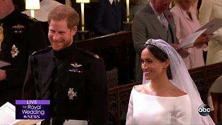 ROYAL WEDDING | Prince Harry and Meghan Markle exchange vows - Video