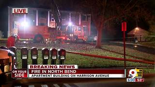 FD: 6 displaced in Miami Twp. apartment fire - Video