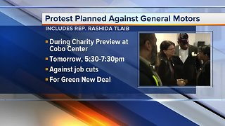 Rep. Rashida Tlaib to join protest during Detroit auto show Charity Preview