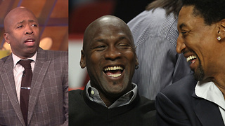 Kenny Smith Says Michael Jordan Couldn't Save the Bulls from the '94 Rockets - Video