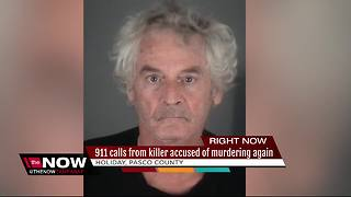 911 CALL: Convicted 71-year-old killer confesses to killing roommate to dispatchers - Video