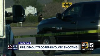 Deadly trooper-involved shooting near I-10 and Jackrabbit Trail