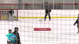 Local hockey players inspired by Olympic win - Video