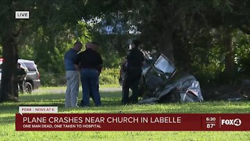 One person has died, another being treated after plane crash in LaBelle