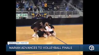 Marian advances to volleyball finals