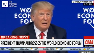 Davos Leader Praises President Trump's 'Strong Leadership' During World Economic Forum (C1) - Video