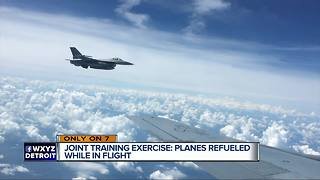 We join the Michigan Air National Guard as they conduct training exercises - Video