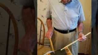 88-Year-Old Man Drums Like a Boss - Video