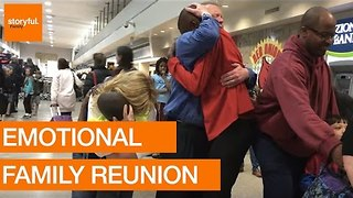 Emotional Reunion For Adopted Boys - Video