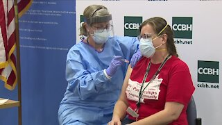'It's a new beginning': Cuyahoga Co. health officials administer first COVID vaccines