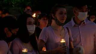 Friends and family gather to remember Bonnie Skinner, victim of fatal machete attack