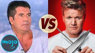Simon Cowell VERSUS Gordon Ramsay - Video