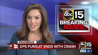 Driver in custody after DPS pursuit in Phoenix - Video
