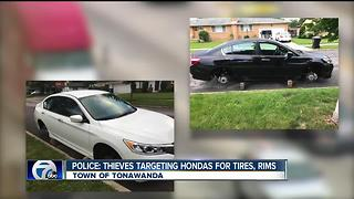 Police: thieves targeting Hondas in Town of Tonawanda - Video