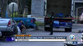 Shooter sought after person injured in Wellington - Video