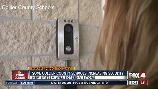 Collier County schools begin increasing security - Video