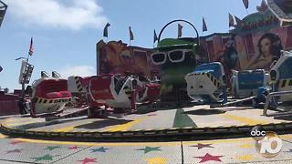Top rides at the San Diego County Fair