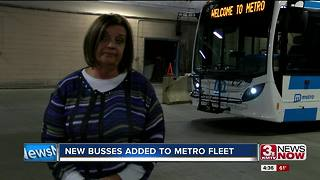 New Metro transit buses debut on Omaha streets - Video