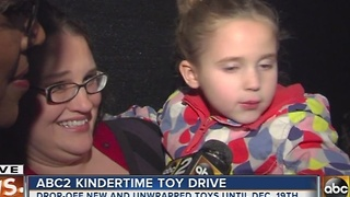 ABC2 It's Kindertime toy drive - Video