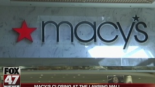 Macy's closing at the Lansing Mall - Video