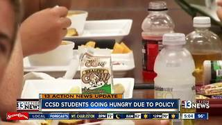 UPDATE: Clark County School District releases statement on student meal charges - Video