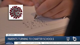 Parents turning to charter schools