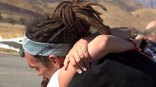 'FunforLouis' Louis Cole lands in Kern County after 22 country world trip - Video