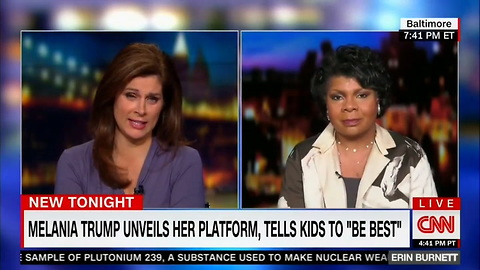 April Ryan Says Melania Trump Is Still 'Learning' And Isn't 'Cuturally American'