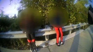 Police Officer Confronts Teens Over Use of BB Guns in Columbus, Ohio - Video
