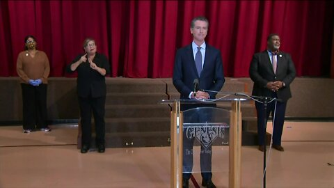 Gov. Newsom: People have lost patience