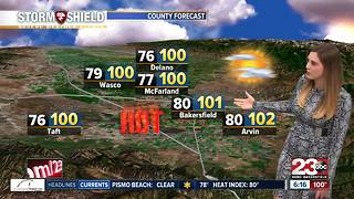 23ABC PM Weather Update 8/4/17 - Video