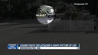 Jogger escapes from would-be abductor