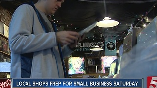 Local Shops Prepare For Small Business Saturday - Video
