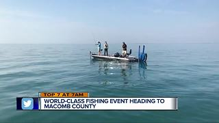 Bassmaster Elite Series, local fishers having major impact on Lake St. Clair - Video