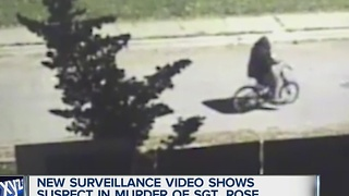 New video released of suspect in Sgt. Rose murder - Video